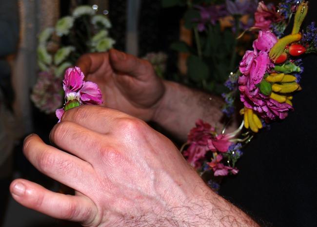 dare to diy  taller de accesorios florales