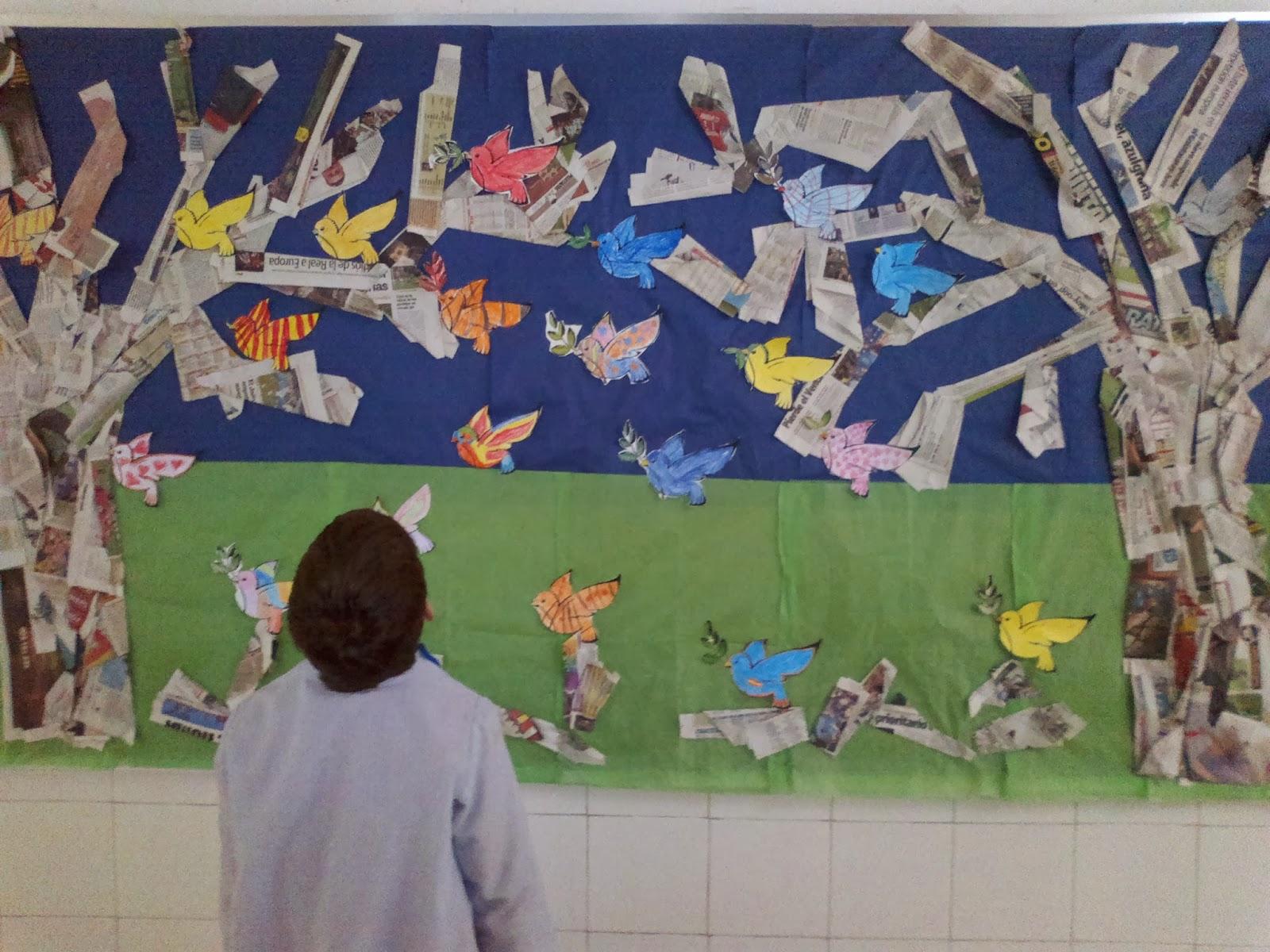 Gregori mayans taller de revista febrero 2014 for Como decorar un mural