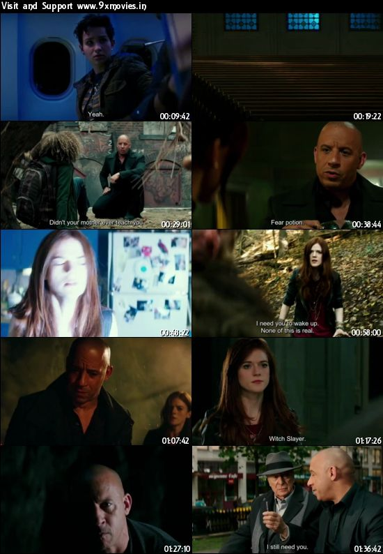 The Last Witch Hunter 2015 English 480p WEB-DL 300mb ESubs