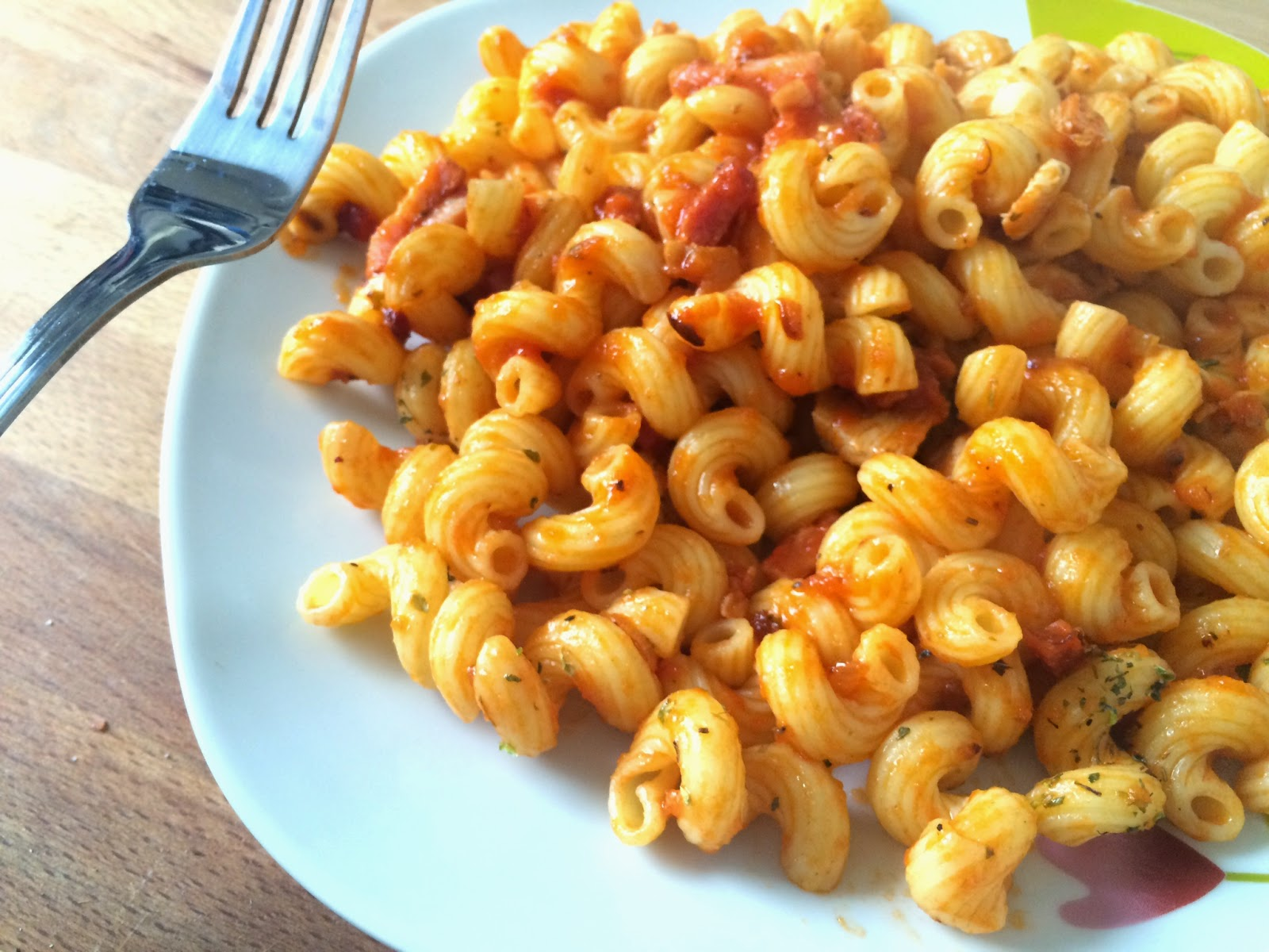 El blog de lorenna pasta cavatappi chicken for Cocinar noodles