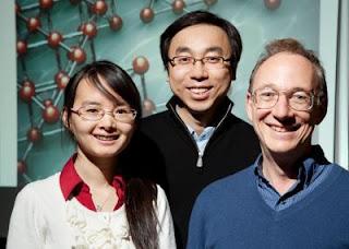Qian Chen, Sung Chul Bae and Steve Granick