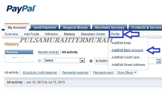 Cara Menambahkan Rekening Bank Payoneer Ke Paypal 4
