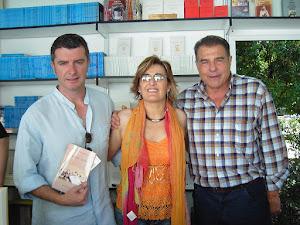 Feria del libro de Madrid con mis grandes amigos