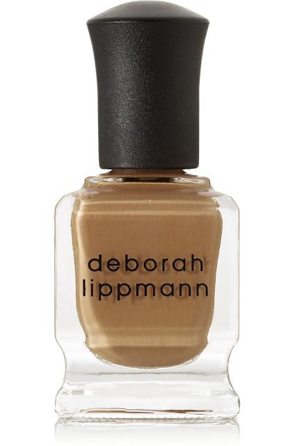 deborah lippmann terra nova, fudge nail polish, caramel nail polish, toffee nail polish,,