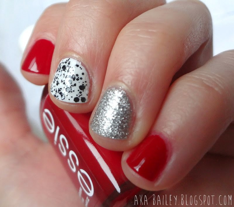 Valentine's Day nails