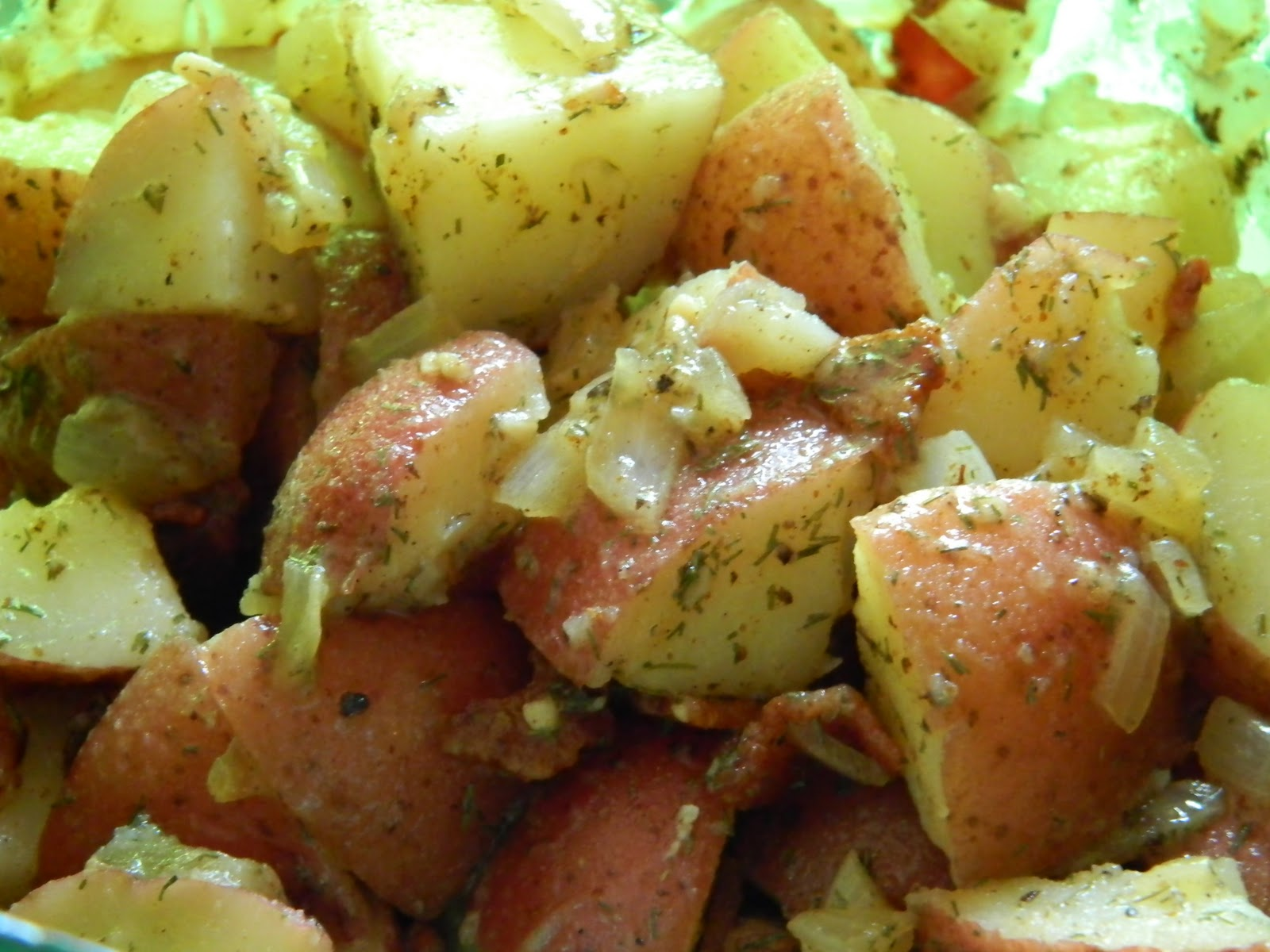 Recipes Straight from the Kowboys Home: German Potato Salad