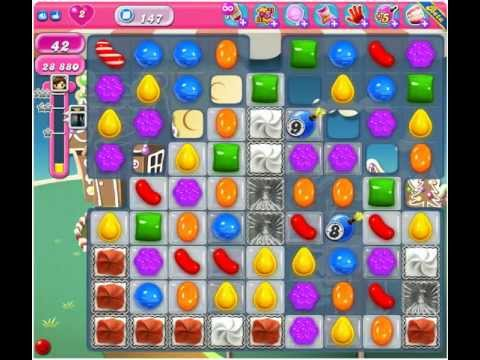 Level 147 Candy Crush How To Win | Manual Guide