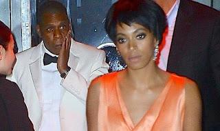 Le rappeur Jay Z violemment frappé par la sœur de Beyoncé