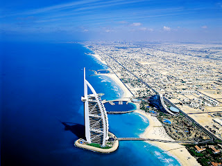 Burj Al Arab Luxury Hotel Dubai Cityscape HD Wallpaper