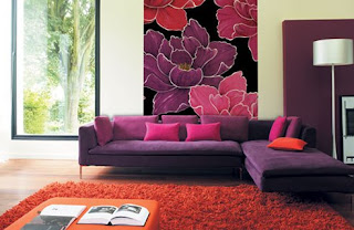 Living Room Wall Decorating and Painting Ideas