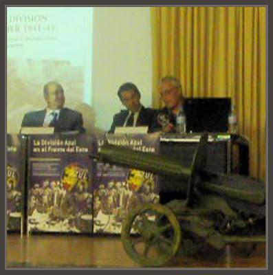 DIVISION AZUL-ERNEST DESCALS-ARTE-PINTURA-HISTORIA-CONGRESO-70 ANIVERSARIO-