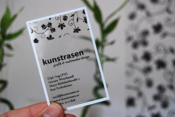 cartões de visita criativos - Kunstrasen