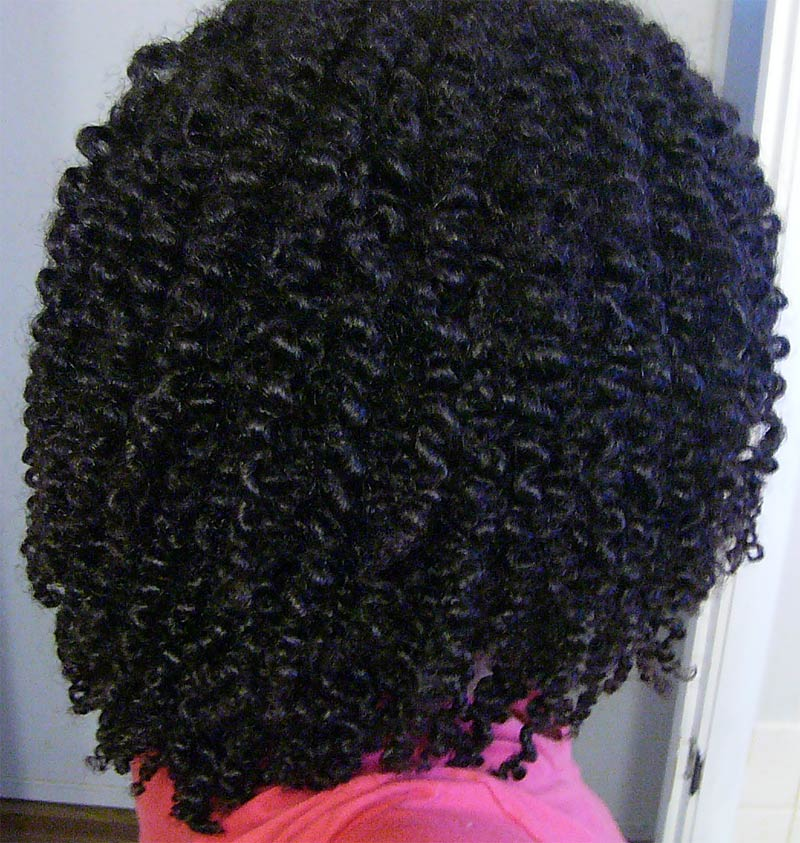 Two Strand Twist Out Natural Hair