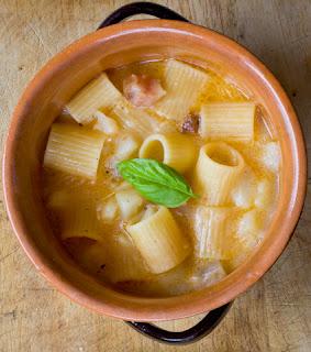 parmigiano reggiano night: la cena web 2.0, la pasta e patate versione smartcooking