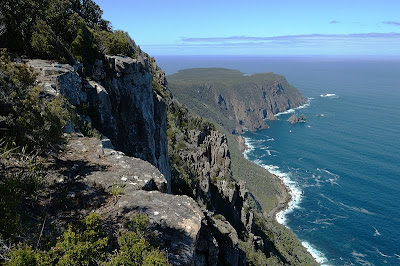 Cape Raoul from the 400+m Mount Raoul Lookout - 20th November 2010