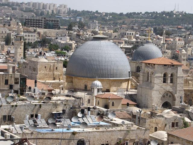 Israel, Jerusalén - Santo Sepulcro