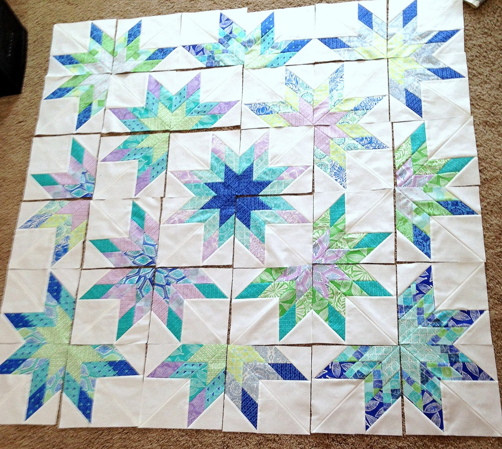 Stories from the Sewing Room: Lone Starburst Quilt Class with ... : starburst quilt - Adamdwight.com