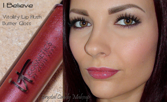 Vitality Lip Flush Butter Gloss de It Cosmetics I Believe - Review - Swatch