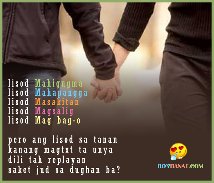 Visayan Love Quotes and Bisaya Love Sayings SMS ~ Boy Banat