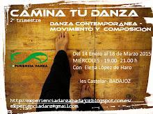 PROYECTO CAMINA TU DANZA 2014-15