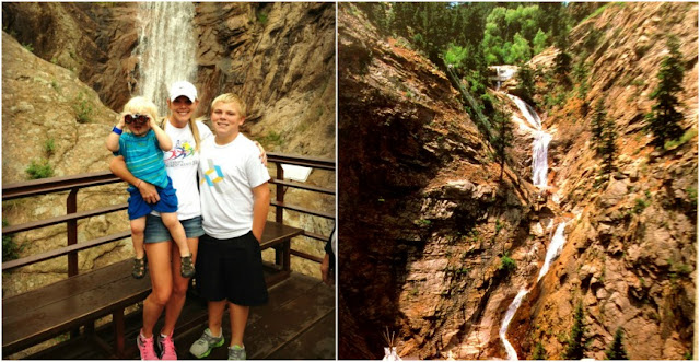 Seven Falls Hike, Colorado Springs