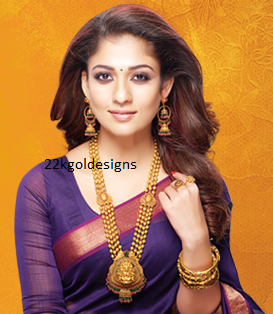 Nayanthara In Grt Antique Jewellery Ad 22kgolddesigns