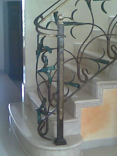 Delgo barandillas para escaleras for Barandillas hierro forjado