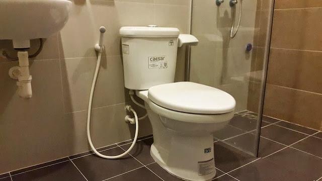 Thiết bị vệ sinh phòng WC chung  cư ct3 tây nam linh đàm