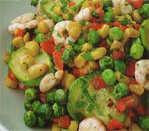 Sebzeli Karides Salatası Tarifi