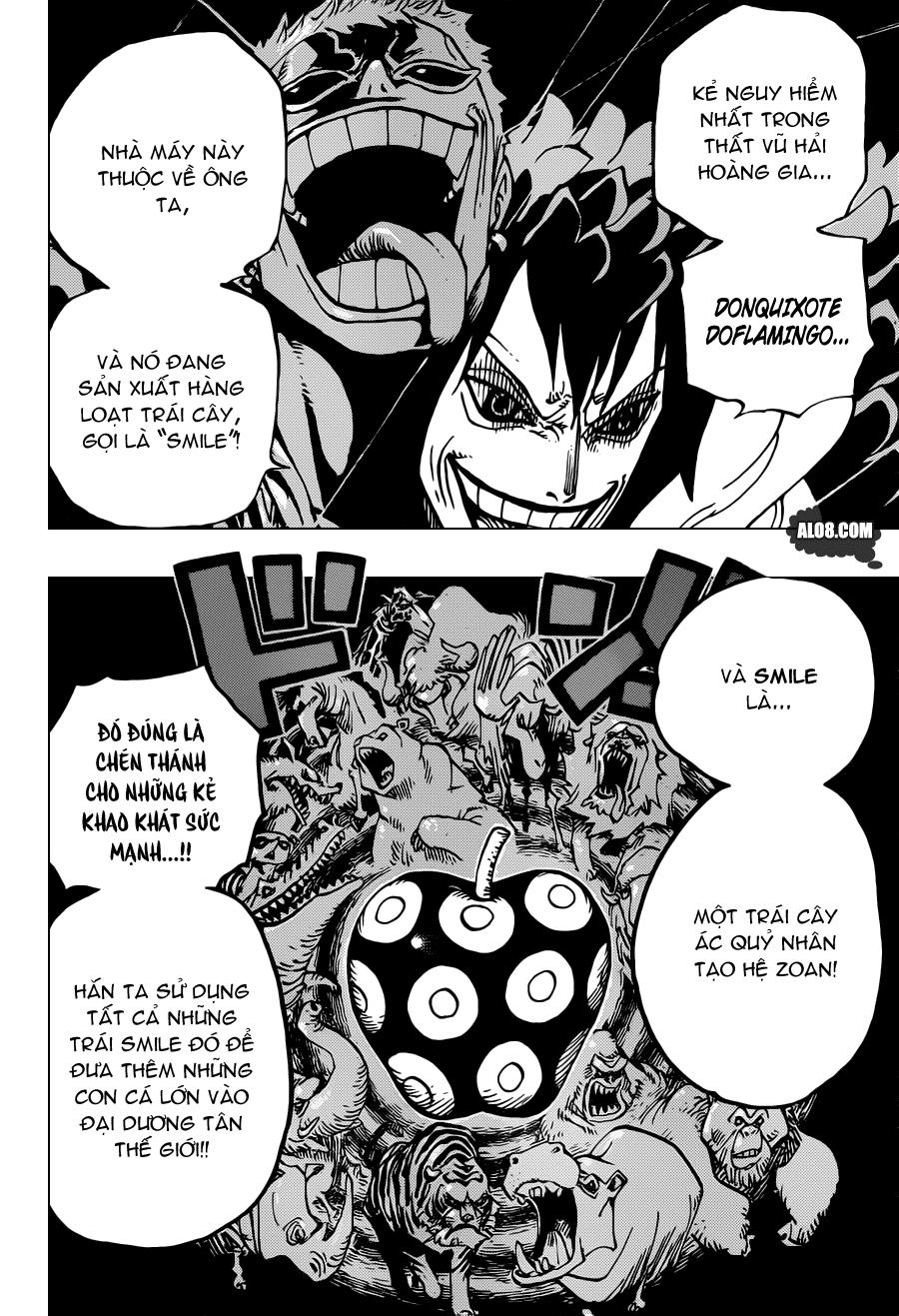 One Piece Chapter 689: Một hòn đảo dường như không tồn tại 015