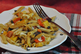 Penne with Winter Vegetables