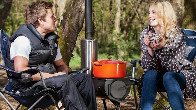 The Frontier portable camping stove - Complete Outdoors