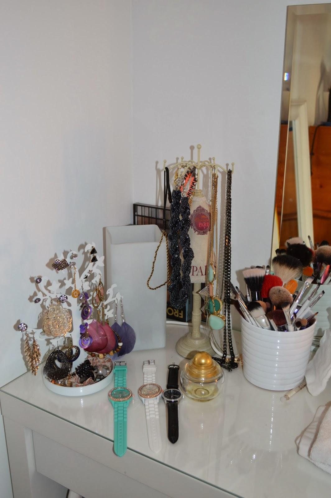Le monde de la beaut mon rangement maquillage - Tour de rangement maquillage ...