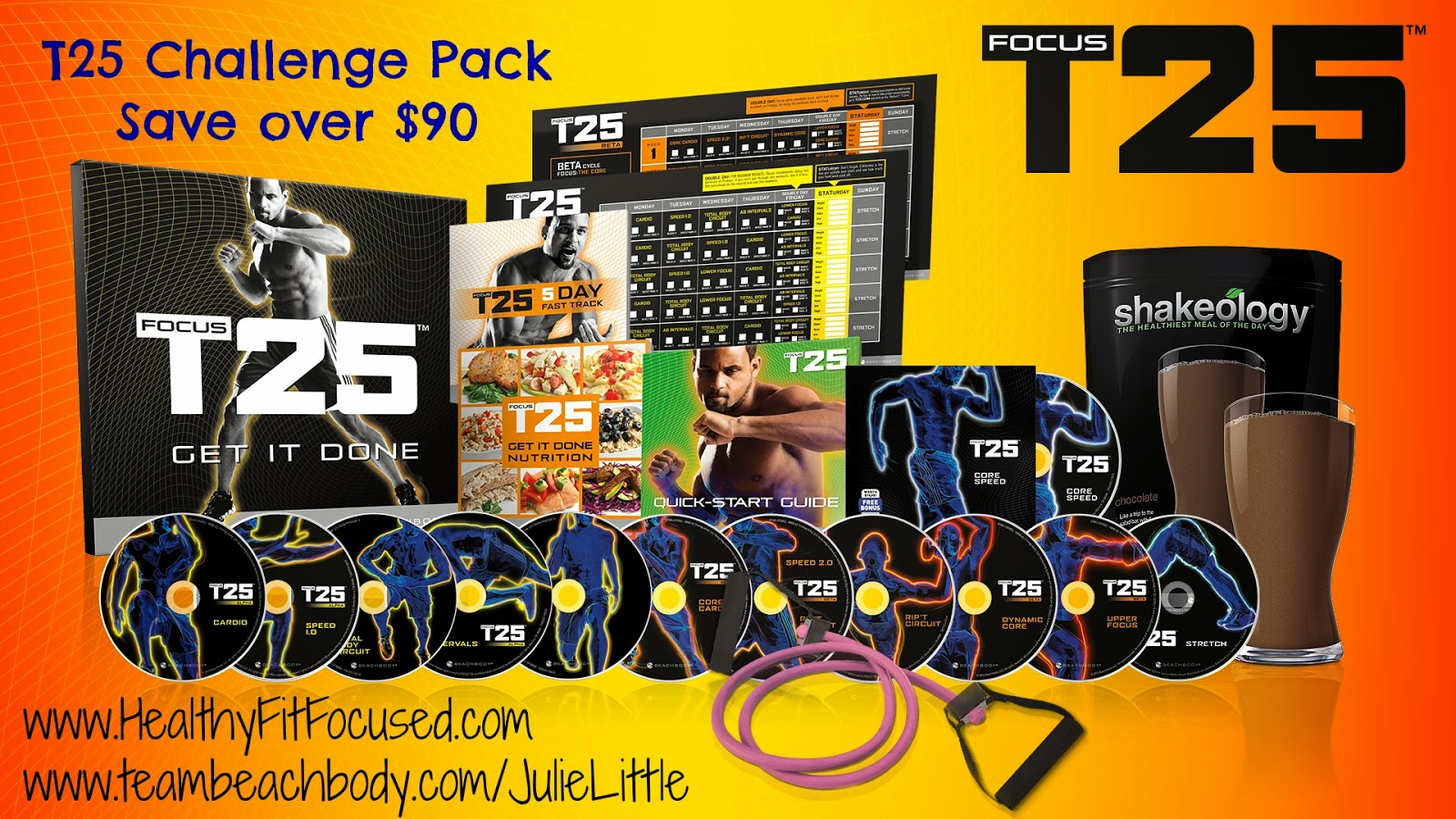 T25 Challenge Pack on Sale in April