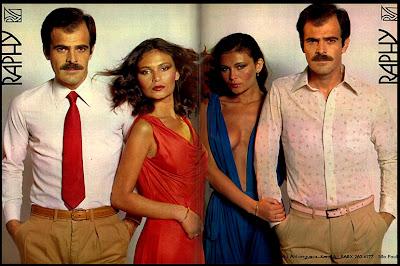 propaganda Raphy - 1978; moda masculina decada de 70; moda anos 70; propaganda anos 70; história da década de 70; reclames anos 70; brazil in the 70s; Oswaldo Hernandez