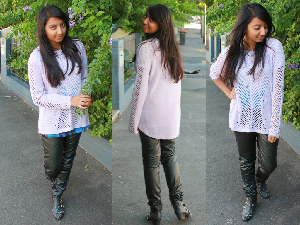 fashion blog, womens fashion, lesimplyclassy, jumper, rubi shoes, cheap fashion, cheap outfits, under $50,  skeleton fashion, kmart, august st, crystal bullet necklace,