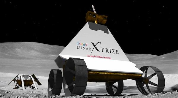 Google Lunar X Prize, noticias de tecnología