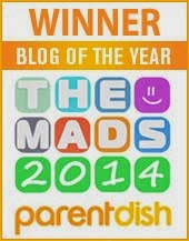 WINNER! 2014 'Blog of the Year'