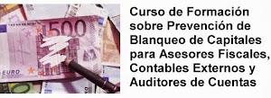 FORMACIÓN On line : Los asesores fiscales, contables y auditores ante el Blanqueo de Capitales.