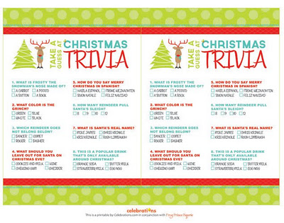 Free printablechristmas trivia games free download cute free printablechristmas trivia games sciox Gallery