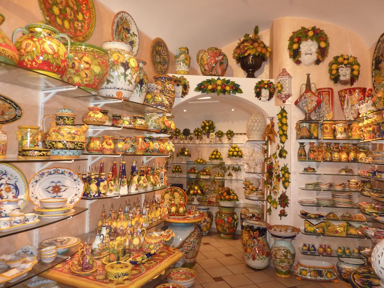 Amalfi Coast Ceramics Italian Allure Travel