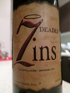 Label photo of 2010 7 Deadly Zins Old Vine Zinfandel
