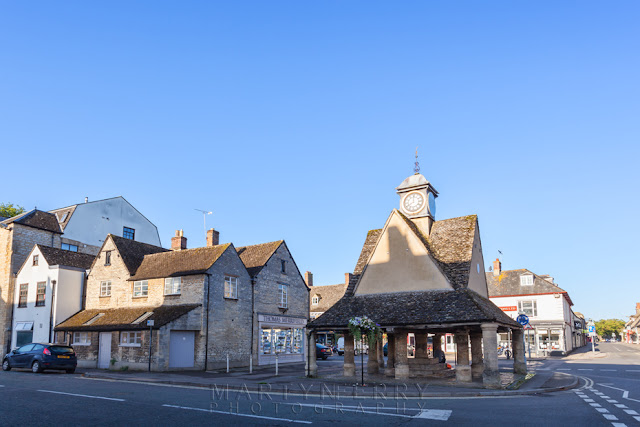 The Butter Cross at Witney market in Oxfordshire  by Martyn Ferry Photography