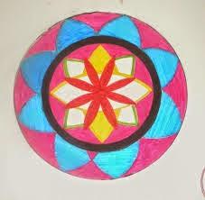 Gambar Batik Tulis Motif Hias Geometris