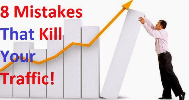 Top 8 Blogging Mistakes That Kill Traffic
