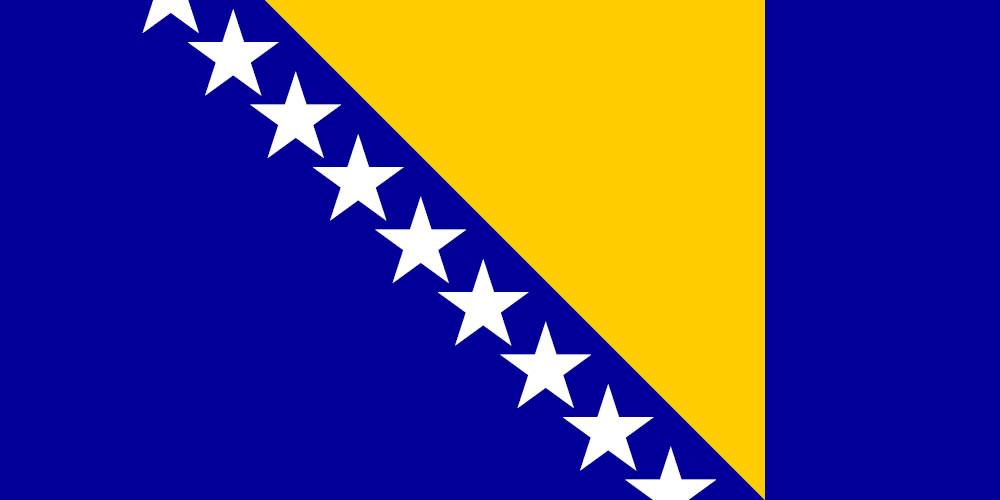 Poreklo imena država Zastava+BiH