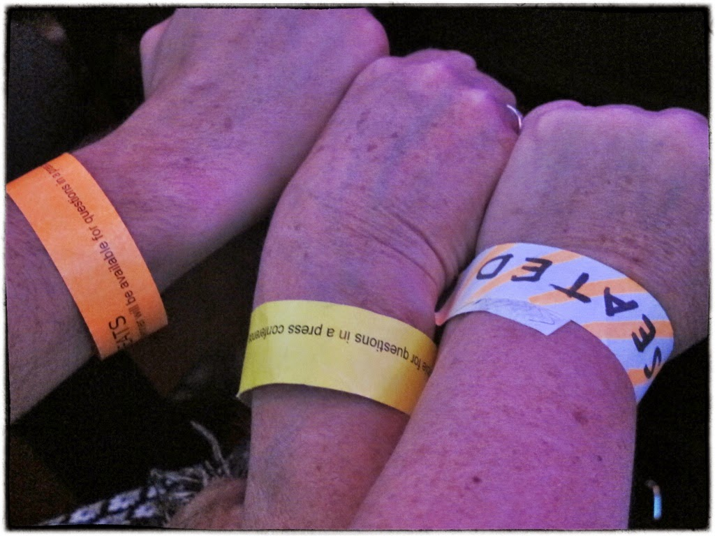 Wristbands for the worlds 50 best restaurants
