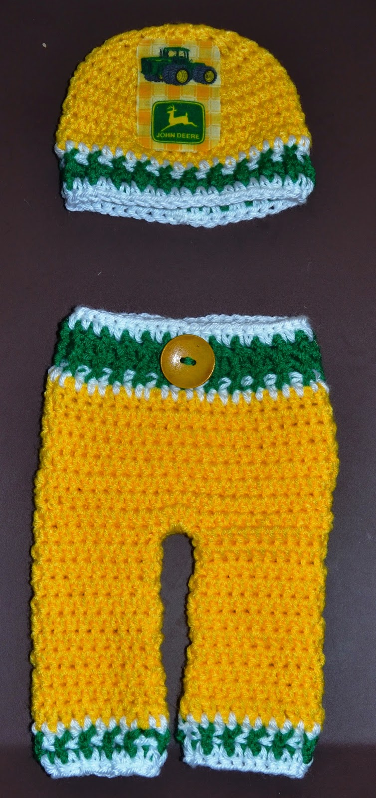 John Deere Baby Outfit