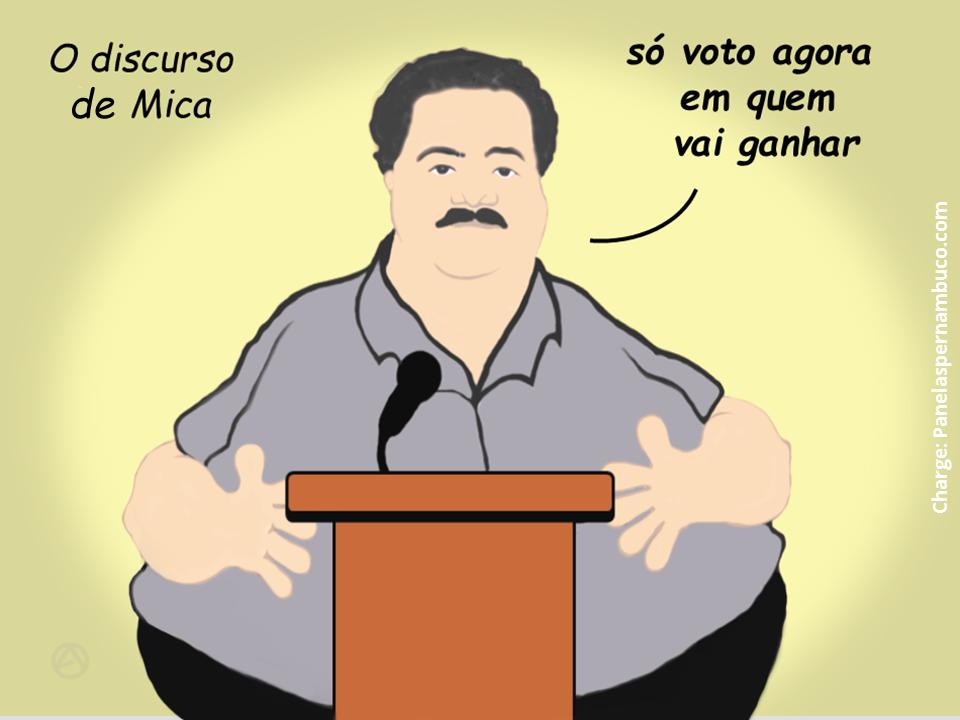 O discurso do vereador Mica - Panelas/PE