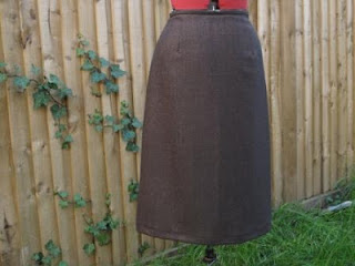 Finished skirt